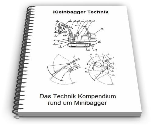Kleinbagger Minibagger Technik