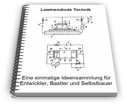 Lawinendiode Avalanche Photodiode Technik