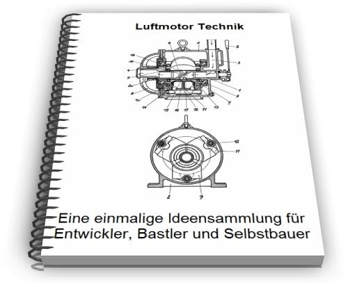 Luftmotor Pressluftmotor Lamellenmotor Technik