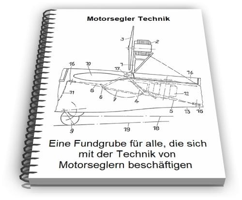 Motorsegler Motorsegelflugzeug Technik