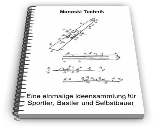 Monoski Monoschi Mono Ski Technik