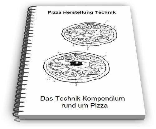 Pizza Herstellung Pizzaofen Pizzaschneider Technik