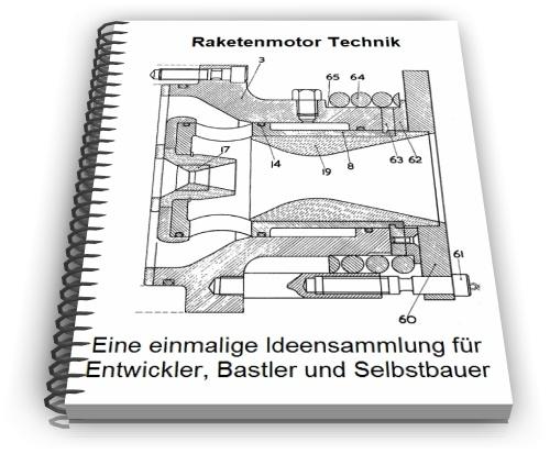 Raketenmotor Raketenantrieb Raketentriebwerk Technik