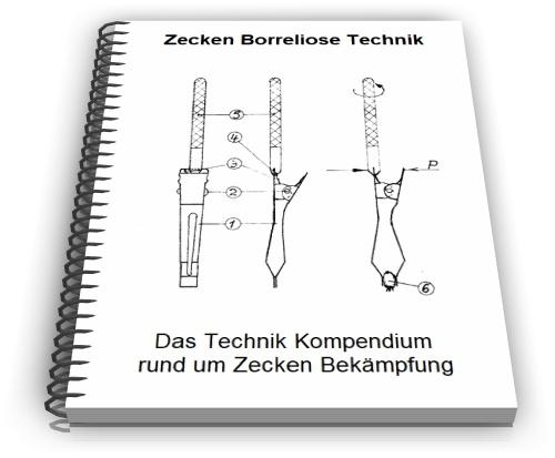 Zecken entfernen Borreliose Behandlung Technik