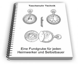 Taschenuhr Taschenuhrwerk Technik