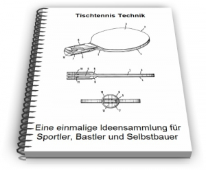 Tischtennis Tischtennisplatte Tischtennisschläger Technik