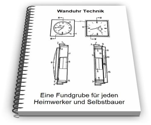 Wanduhr Wanduhrgehäuse Technik