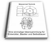 Wasserrad Technik
