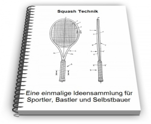 Squash Squashschläger Ball Spielhof Technik