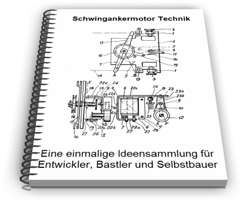 Schwingankermotor Schwingankerantrieb Technik
