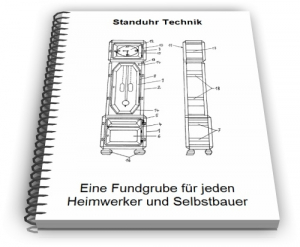 Standuhr Standuhrgehäuse Technik