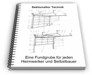 Sektionaltor Sektionaltorblatt Technik