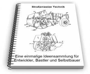 Straßenwalze Walzenfahrzeug Walze Technik