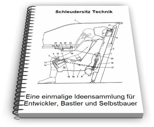 Schleudersitz Flugzeugschleudersitz Technik