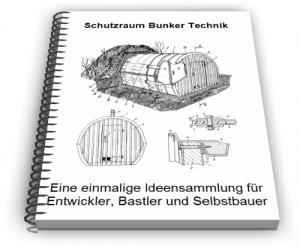 Schutzraum Bunker Zivilschutz Technik