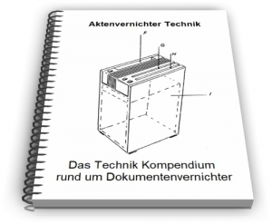 Aktenvernichter Dokumentenvernichter Schredder Technik