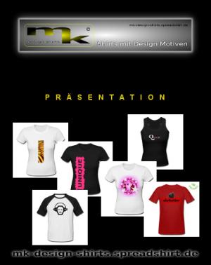 Präsentation mk Design Shirts
