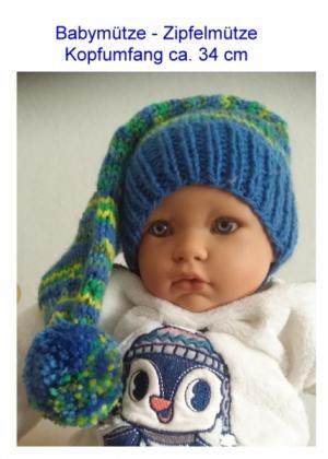 Zipfelmütze für Babies