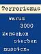 Facharbeit über Terrorismus