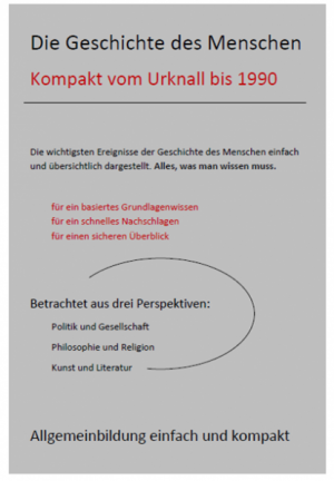Die Geschichte des Menschen Kompakt - Vom Urknall bis 1990
