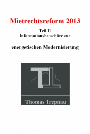 Informationsbroschüre zur energetischen Modernisierung