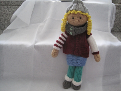 Häkelanleitung Puppe Celine