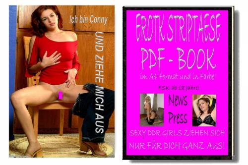 Striptaese Book. 5 Girls strippen für Dich