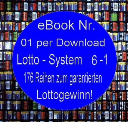Mini eBook =1 Lottosystem 176 Reihen Vollsystem