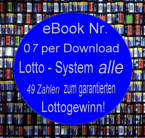 MINI eBOOK 07 System Lotto alle 49 Zahlen