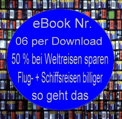 Mini eBook: 'Jetzt billiger Reisen'