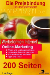 EBook Werbeformen im Internet