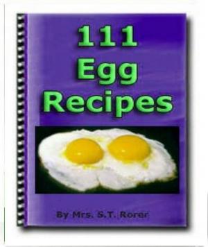 e Book 111 Eier Rezepte in englischer Sprache