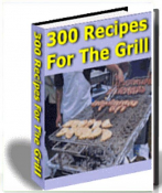 eBook 300 leckere Grill Rezepte in englicher Sprache