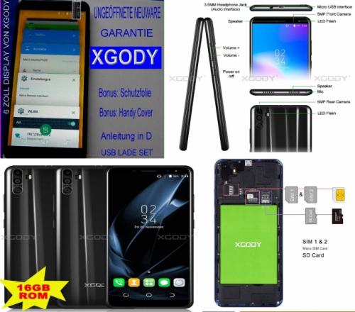 XGODY SMARTPHONE PDF HANDBUCH