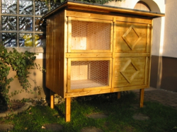 Build your own rabbit or guinea pig hutch plans