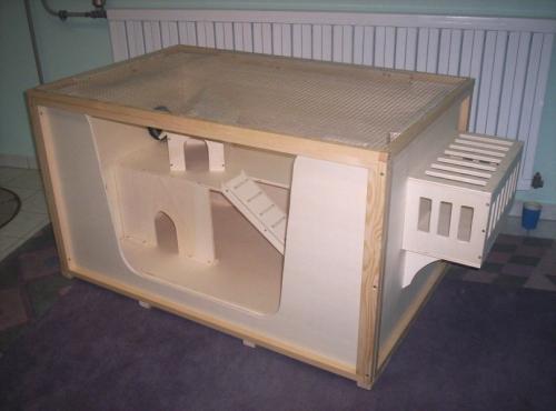 Bauplan Bauanleitung für Kleintierkäfig Meerschweinchenkäfig