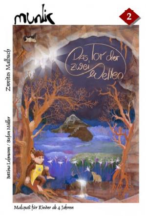 Munlic - Ein Anhalter Koboldmärchen, Band I Zweites Malbuch