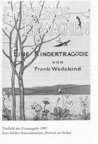 Frank Wedekind - Frühlingserwachen - Inhalt