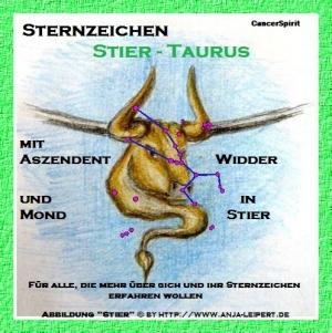 Sternzeichen Stier / AC Widder / Stier-Mond