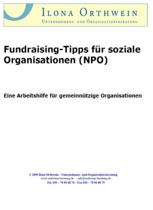 Fundraising-Tipps für soziale Organisationen (NPO)