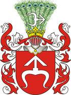 Abratowicz, Wappen Odrowąż.