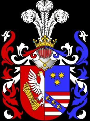 Antonowicz, Wappen Andrault de Buy.