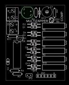Schematic Zapper From Hulda R. Clark - 6 frequ.