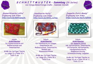 SCHNITTMUSTER Sammlung von Lollita, Hetty + Mandy