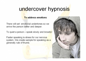 Concealed Hypnosis