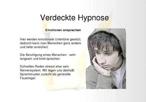 Verdeckte Hypnose