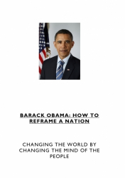 Barack Obama - How to Reframe a Nation
