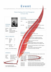 CV Resume Lebenslauf Template 'Industry Specialist'