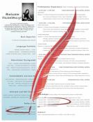 CV Resume Lebenslauf Template 'Generic Template'