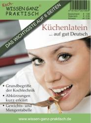 Küchenlatein ... auf gut Deutsch